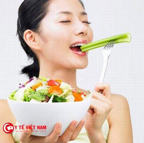 Bổ sung lượng rau củ quả vào cơ thể để bảo vệ tốt cho đôi mắt của bạn