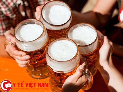 Rượu bia nguyên nhân gây bệnh động mạch vành