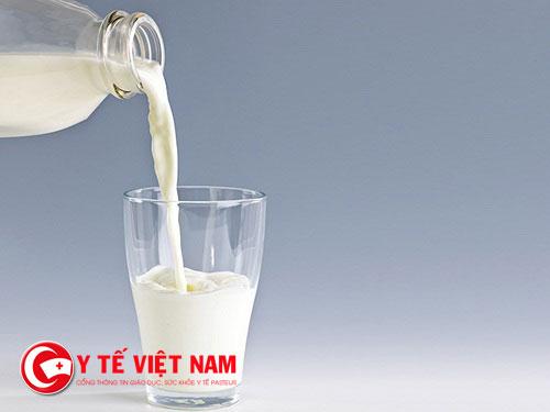 Sữa và các loại sữa thì có thể giúp điều trị bệnh sùi mào gà hiệu quả