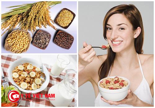 Ngũ cốc hạt là nguyên liệu giúp bạn giảm cân hiệu quả