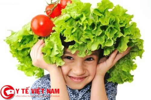 rau xanh thực phẩm vàng đẩy lùi bệnh áp xe gan hiệu quả