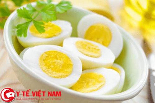 Trứng thực phẩm vàng đẩy lùi bệnh áp xe gan