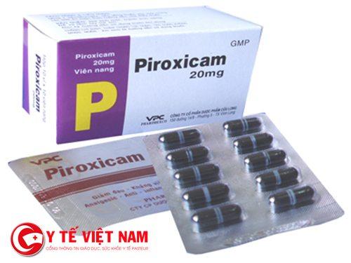 Thuốc Piroxicam có thể sử dụng để giảm đau hạ sốt