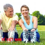 Tập thể dục nâng cao sức đề kháng cho cơ thể.
