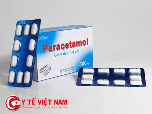 Paracetamol có những tác dụng phụ trên da