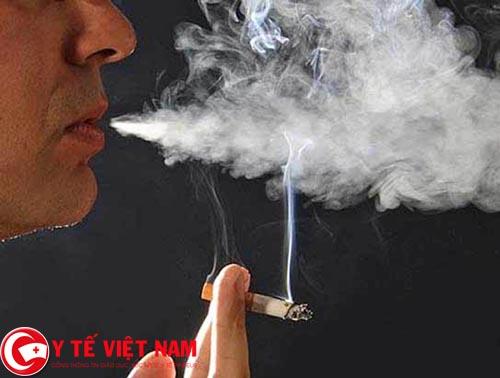 Do hút nhiều thuốc lá