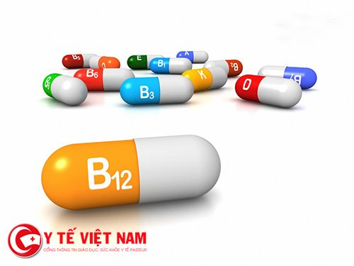 Có thể kết hợp uống vitamin B12 với một số loại vitamin khác như B1, B6