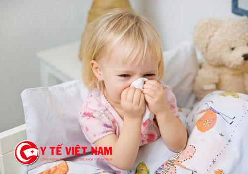 Triệu chứng của viêm mũi dị ứng ở trẻ