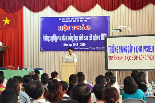 Hội thảo hướng nghiệp và phân luồng học sinh THCS