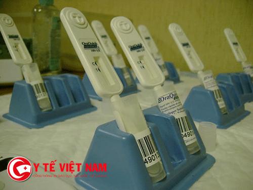 Công cụ tự xét nghiệm HIV