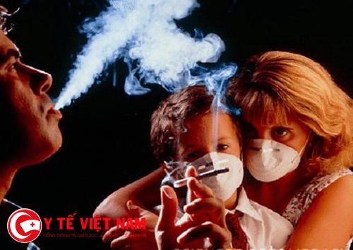 Thuốc lá còn ảnh hưởng đến những người xung quanh