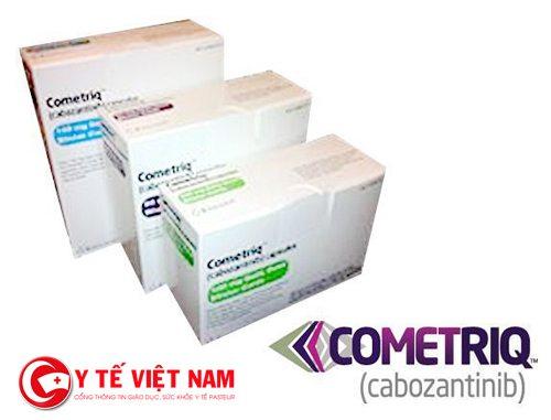 Thuốc cabozantinib dùng để điều trị ung thư thận