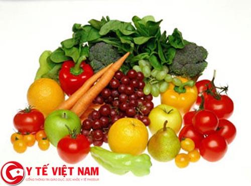 Nên ăn nhiều thực phẩm chứa nhiều vitamin