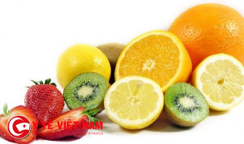 Trái cây chứ nhiều vitamin C