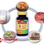 Vitamin B12 hỗ trợ điều trị thiếu máu
