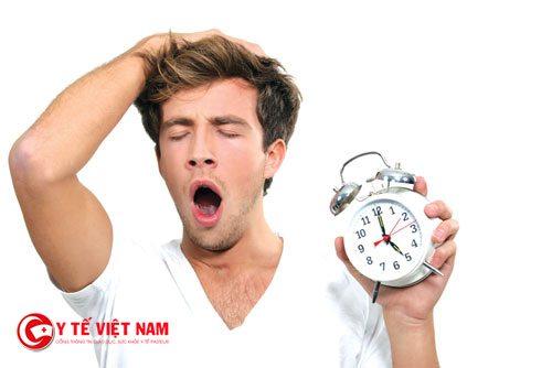 Bệnh mất ngủ khiến cho cơ thể luôn mệt mỏi