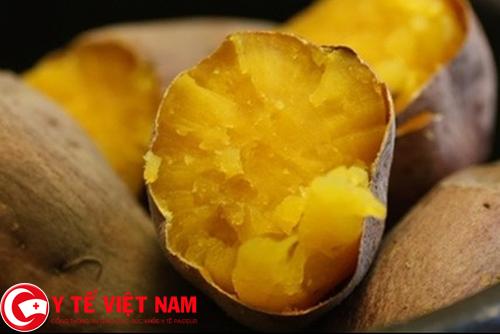 Khoai lang thực phẩm vàng cho người bệnh viêm tụy