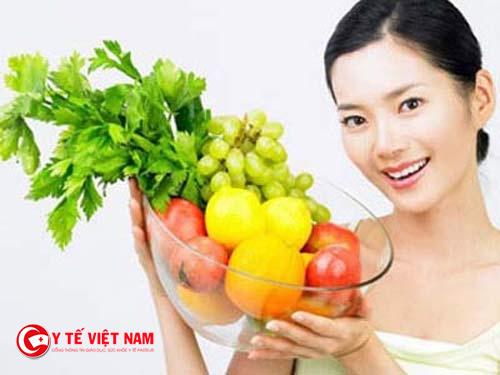 Ăn uống đúng giúp duy trì sức khỏe