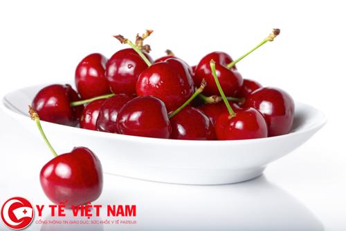 Bệnh ung thư tuyến tụy nên ăn quả lựu và quả anh đào