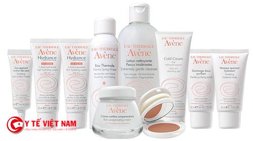 Các sản phẩm nổi tiếng của Avène