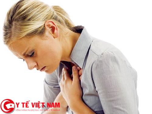 Bệnh xẹp phổi gây khó thở