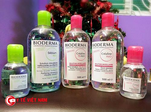 Dược mỹ phẩm Bioderma Sébium H20