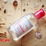 Khám phá bí ẩn 2 chai nước tẩy trang của dược mỹ phẩm Bioderma