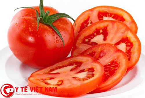 Cà chua thực phẩm vàng cho người bệnh đột quỵ