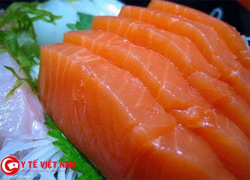 Cá là một trong những thực phẩm tốt cho da