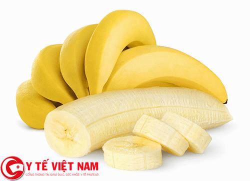 Chuối thực phẩm vàng cho người bệnh đau vai gáy