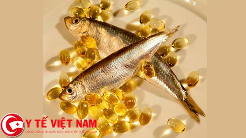 Dầu cá thực phẩm vàng cho bệnh suy giãn tĩnh mạch chân
