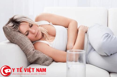 Đau bụng kinh là hiện tượng thường gặp của chị em phụ nữ