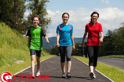 Đi bộ rất tốt cho sức khỏe