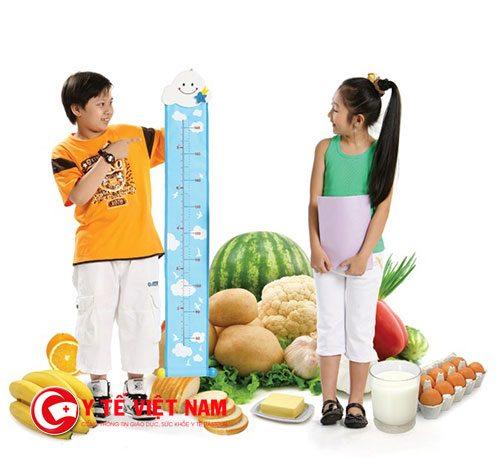 Chế độ dinh dưỡng hợp lý sẽ giúp tăng chều cao ở lứa tuổi dậy thì