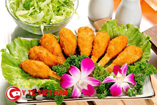 Đồ ăn chay được nhiều người ưa thích