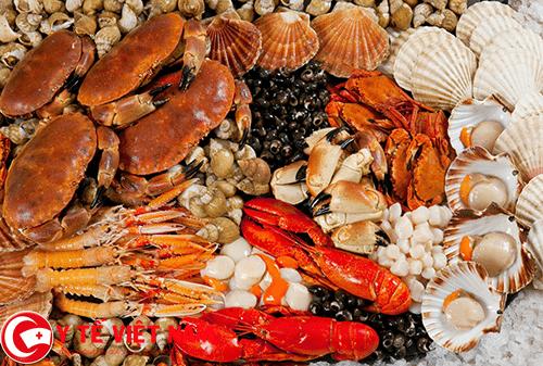 Hải sản thực phẩm vàng cho người bệnh ung thư tuyến giáp