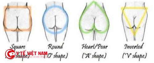 Hình dáng mông phụ nữ nói lên tình trạng sức khỏe