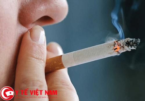 Hút thuốc nguyên nhân gây bệnh ung thư lưỡi