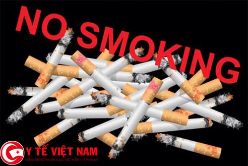 Không hút thuốc lá cách phòng bệnh xẹp phổi