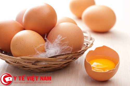 Thiếu sắt khi mang thai nên ăn lòng đỏ trứng gà