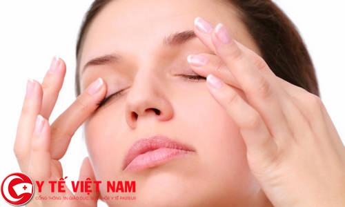 Bài tập massage cầu mắt
