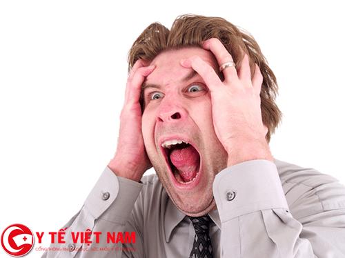 Nguyên nhân gây bệnh rối loạn tuần hoàn não là do stress kéo dài