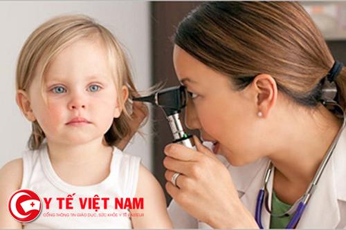 Điều trị viêm tai giữa ở trẻ