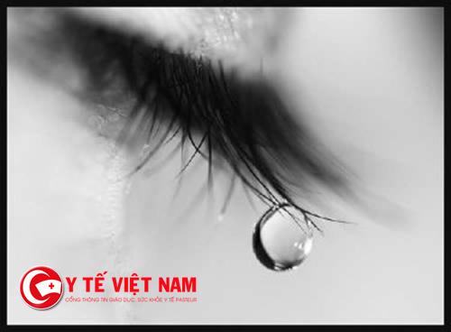 Nước mắt có nhiều lợi ích với sức khỏe