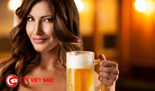Bia giúp dưỡng ẩm da mỗi ngày
