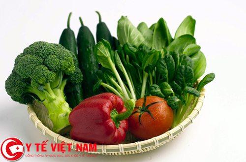 Bệnh thiếu máu cơ tim nên ăn nhiều rau xanh