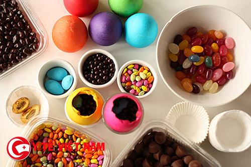 Những thực phẩm có chứa phẩm màu