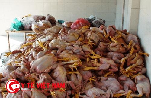 Thực phẩm bẩn tràn lan trên thị trường