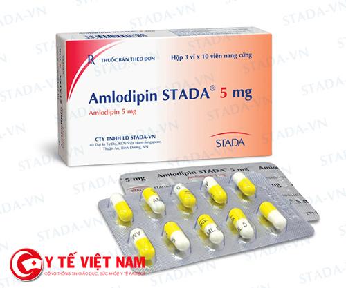 Thuốc Amlodipin giúp hạ huyết ápThuốc Amlodipin giúp hạ huyết áp