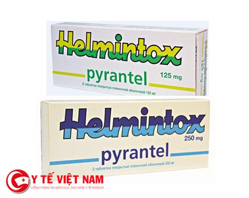 Thuốc Helmintox giúp tẩy giun hiệu quả